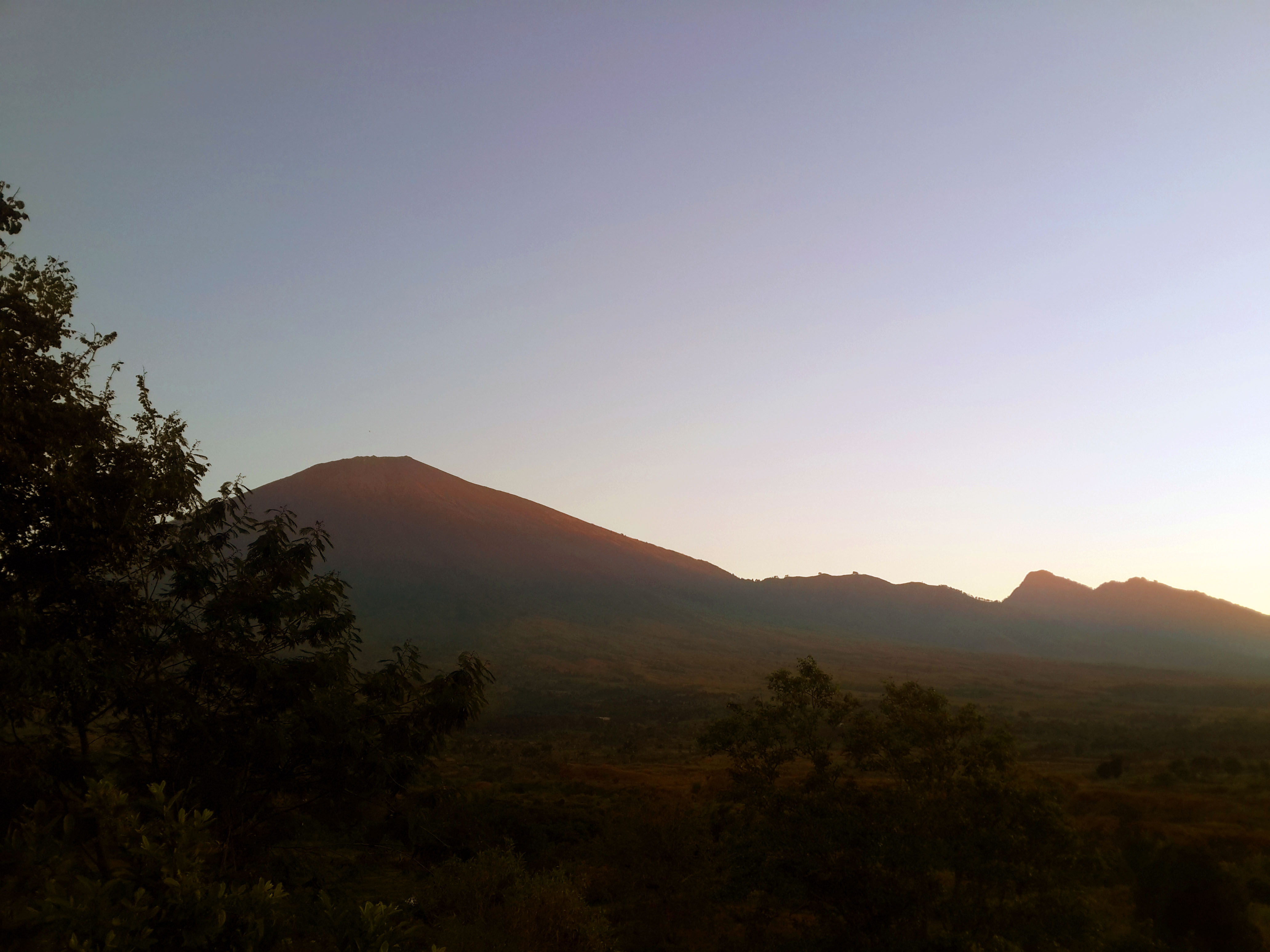 Mount Rinjani (mobile photo)